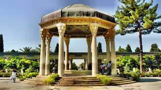Tomb of Hafez in Shiraz